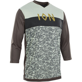 ION Scrub AMP 3/4 LS Tee Men root brown
